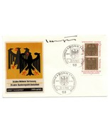 Germany FDC w/  Autograph : Kai-Uwe von Hassel German politician from Sc... - $25.00