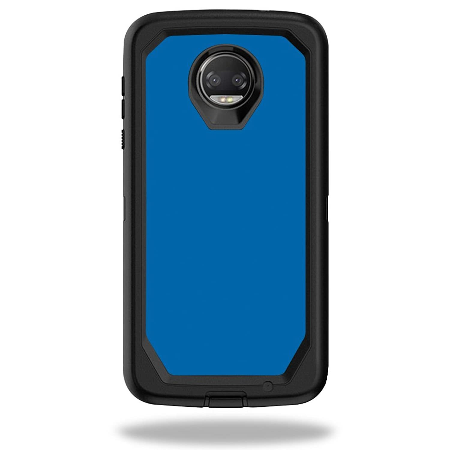 Skin Compatible With Box Defender Motorola Moto Z2 Force - Solid Blue   Protecti - $6.99