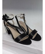 Tahari Women's TT-Patsy Heeled Sandal - Black Size 9 M - $48.44