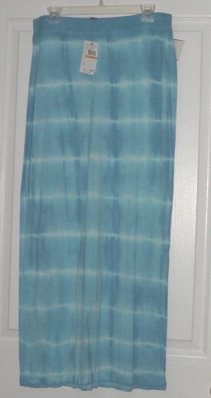GLORIA VANDERBILT KNIT COVER UP SKIRT SIZE S BLUE MSRP:$40.00 NWT