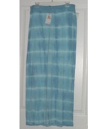 GLORIA VANDERBILT KNIT COVER UP SKIRT SIZE S BLUE MSRP:$40.00 NWT - $16.99