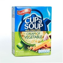 2 x Batchelors Cup a Soup - Cream of Vegetable, 122 gm Carton - $17.77