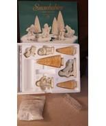 Dept 56 Snowbabies Snowbaby 2000 SKATE WITH ME Gift Set of 10 #69073 Ret... - $28.00