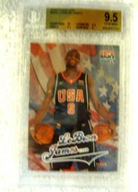 Lebron James RC 2004 Fleer USA Rookie Card GEM BGS 9.5! Cavaliers RC - $128.69