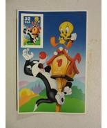 Souvenir sheet lot  #3204c 32c Sylvester&Tweety - Looney Tunes 1998 WARN... - $2.96
