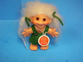 Vintage Dam Troll 5.5'' with Hang Tag & Original Outfit - $39.99