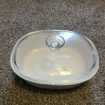 French White Corning Ware F-12-B 1.5 Quart Casserole Dish W Lid - $24.99