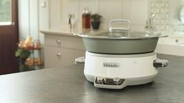Crock-Pot Duraceramic CSC027X - Pot Of Slow 202.9oz Oven Dishwasher New - $443.51