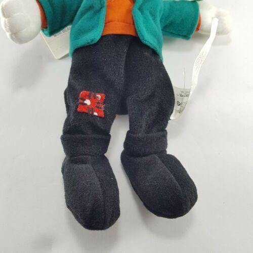 """Disney Store Goofy Goofenstein Frankenstein plush beanie 9"""" Tag Halloween NEW"""
