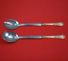 America Victorian by Lunt Sterling Silver Salad Serving Set Modern Custom 2pc - $149.00