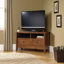 Corner Entertainment TV Stand Wooden Cabinet TVs 40 Media Storage Shelf ... - $172.46