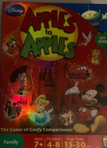 Disney Apples To Apples Board Game Princess Mickey Jonas Bro's Party Sleepover - $19.70