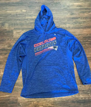 NFL Team Apparel New England Patriots Men's SIZE (M) Hoodie Sweatshirt H... - $49.50