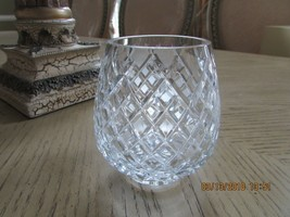 LENOX CRYSTAL1ST ANNUAL CHRISTMAS CANDLE HOLDER NOEL 1984 SALE - $4.90