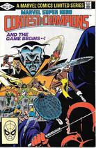 Marvel Super Hero Contest of Champions Comic Book #2 FINE+ 1982 NEW UNREAD - $6.89