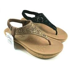 Skechers 32832 Luxe Foam Slingback Wedge Slip On Sandal Choose Sz/Color - $49.00