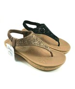 Skechers 32832 Luxe Foam Slingback Wedge Slip On Sandal Choose Sz/Color - $39.20