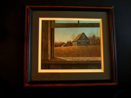 "Jim Harrison Signed/Numbered LE Print ""Country Seasonin"" (MORTON SALT) F... - $235.00"