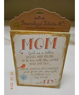 NEW HALLMARK PERSONALIZED TRIBUTES MOTHER'S DAY EASEL BOARD FRAME CANVAS... - $6.92