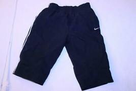 Infant/Baby Nike Sz 6/9 Mo. Navy Blue Pants W/ White Logo - $9.49