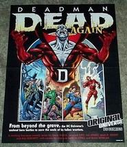 DC Comics Death of Superman/Flash/Robin poster: JLA/Deadman/Green Lanter... - $29.69