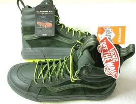 Vans Womens Sk8-Hi MTE 2  All Weather Boots Forest Green Primrose Size 8.5 NWT - $88.35