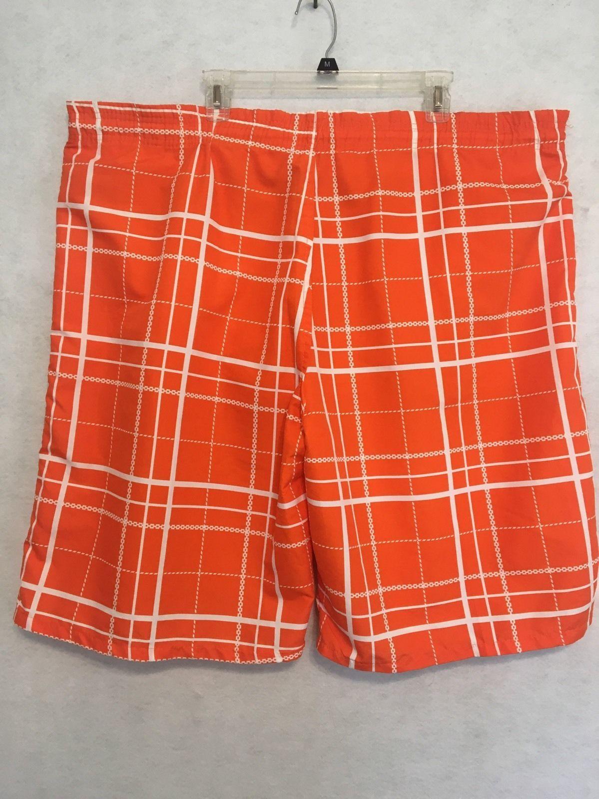 86b5b8fcf2 Nbn Gear Orange White Cargo Swim Trunks Mens and 50 similar items