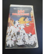 Disney 101 Dalmatians VHS Movie/1992 Black Diamond Classic VGC #1263  - $24.75