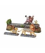 Enesco Jim Shore Disney Traditions The Lion King Simba, Timon, and Pumba... - $94.99