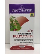 (New) New Chapter - Every Man's II 40+ Multivitamin - 48 Tablets - $27.22