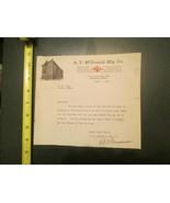 A Y McDonald Mfg Company 1918 Invoice Letterhead 1230 - $10.99