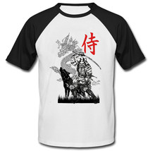 Samurai Japan Warrior - New Cotton Baseball Tshirt - $26.49