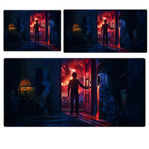 Stranger Things Will & Upside Down Extended Mouse Pad Computer Desk Pad ... - $247,92 MXN+