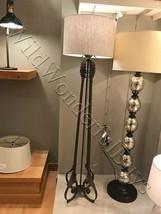 Pottery Barn Madeline Floor Lamp Antique Bronze 66H Light Romantic NIB - $99.00