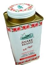 Snake Brand Pricklly Heat Talc Powder Cherry Blossom  Antibacterial Sweaty Feet - $6.70