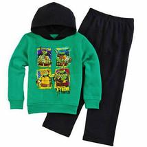 Ninja Turtles Kapuzenpulli Hose Fleece Kleidung Satz Outfit Sizes 4, 5 Or 7 - $16.76