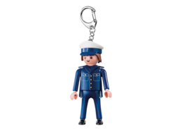 Playmobil Keychain Police #7431 New Sealed - $11.26