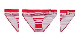 Ralph Lauren Striped Side-ring Bikini Bottom (Coral, size 8) - ₹2,383.83 INR