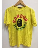 Vintage Bathing Ape x 24 Hour Television Big Cartoon Logo Tshirt Streetwear - $70.00