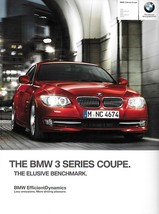 2012 BMW 3-SERIES Coupe brochure catalog US 12 328i 335i xDrive 335is - $8.00