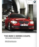 2012 BMW 3-SERIES Coupe brochure catalog US 12 328i 335i xDrive 335is - $9.00