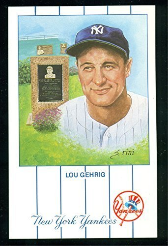 1990 Lou Gehrig New York Yankees #1 from the Monument Park Limited set of 5,000