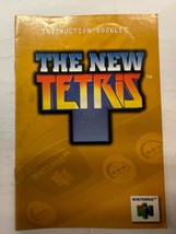 The New Tetris Nintendo 64 Manual Booklet N64 Instructions Only - $4.90