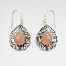 Kanika Jewelry Trove Pink Rose Quartz 925 Sterling Silver Earrings - $40.99