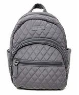 Vera Bradley Leigh Small Quilted Backpack (Carbon Gray) - $145.04
