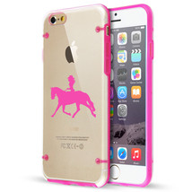For Apple iPhone SE 5s 6 6s 7 8 Plus Clear TPU Hard Case Cowgirl Riding ... - $14.99