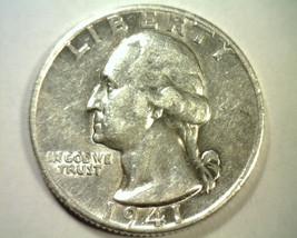 1941-D WASHINGTON QUARTER ABOUT UNCIRCULATED AU NICE ORIGINAL COIN BOBS ... - $15.00