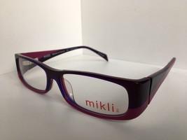 New Mikli by ALAIN MIKLI ML 1029 0002 Vintage Purple Women Eyeglasses - $119.99