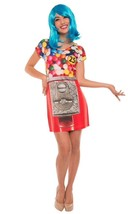 Faux Real Gumball Fororealistica Sublimado Vestido Disfraz Halloween F13... - $31.56
