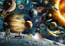 1000 Pieces Space Planet Jigsaw Puzzles Space Travel Adult Kids Educatio... - $11.50